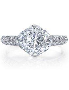 Classy and classic. #engagement #ring
