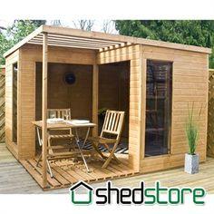 Sheds studios workshops and small spaces on pinterest for Windsor garden studio