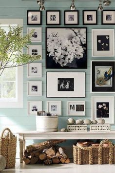 love the photos and colors. I want a collage of photos on a wall in my home<3