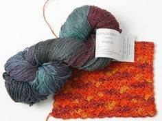 Irish Jig by Interlacements - A yarn review from Love of Crochet magazine - We love the texture, colors, and sparkle - this yarn has it all!