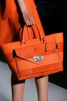 color, fashion week, spring handbags 2014, handbags 2014 spring, oranges, purses 2014 spring, spring 2014, mulberri spring, ss 2014