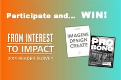3 lucky participants can win a book for participating in our reader survey by Wednesday, August 6th!
