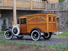 1929 Ford A panel delivery truck...