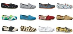 I wish I could buy every pair of TOMS SHOES! These are one pair of my favorite TOMS shoes.$17 #gifts #toms #tomssale2014 #tomsclearance