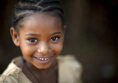 Miss Yemata, Tipi village Ethiopia by Eric Lafforgue