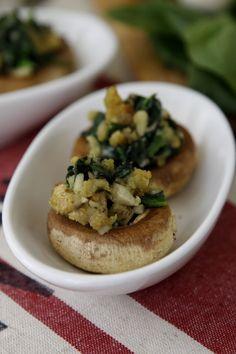savori recip, stuf mushroom, stuffed mushrooms, mushroom vegetarian, mushroom appet