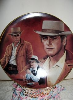Vintage Paul Newman Limited Edition Numbered Plate by SusOriginals, $50.00