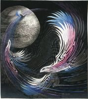 日本キルト大賞作品  Fly Me to the Moon - Yoshiko Miyamoto  2011 Tokyo International Quilt Festival
