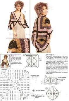 Crochet Granny cardi