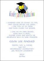 Kindergarten Graduation Announcements And Preschool Graduating Invitations
