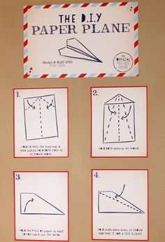 Le Partie Sugar » Blog Archive » {Party} :: Paper Airplane Birthday Party