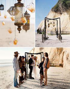 Bohemian Beach Wedding Ideas