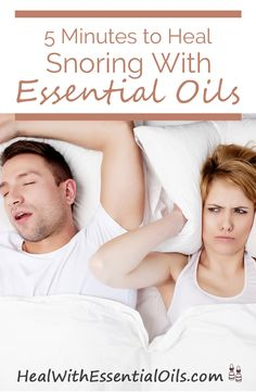 5 Minutes to Heal Snoring With Essential Oils
