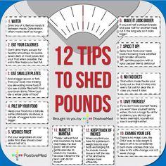 Tips on shedding pounds