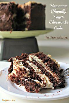 Hawaiian Chantilly Layer Cheesecake Cake 2--073014