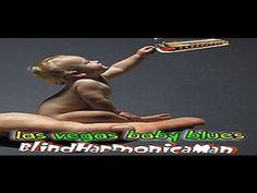 Las Vegas Baby Blues - Blind Harmonica Man Las Vegas Nevada las vega, baby blues, babi blue