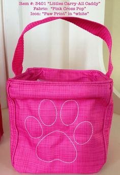 Dog Lovers: Keep your dogs leash, baggies and treats organized in a Thirty One Littles Carry All Caddy!