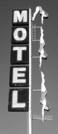 motel sign, swimming pools, vintage signage, remember this, mesas, neon signs, vintage signs, place, old signs