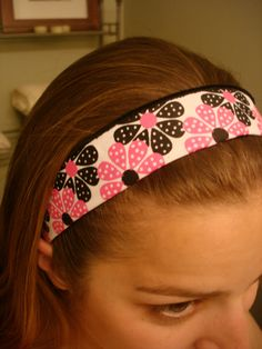 DIY sweatbands cute and not just for sweaty stuff!