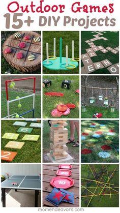 DIY Outdoor Games, 4-H summer activities