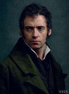 Hugh Jackman photographed by Annie Leibovitz for Vogue, December 2012