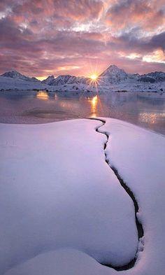 Amazing sunset...