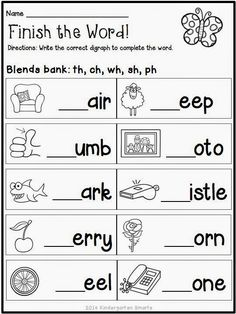 """FREEBIE! Quick and Easy Printable """"Spring Themed"""" Worksheets"""