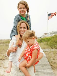 How Olympic athlete moms make it work. Pictured: U.S. soccer team captain Christie Rampone