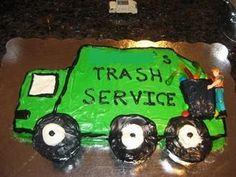 Trash truck birthday