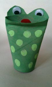 speckled frog craft