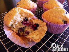 Muffins de blueberries [sem glúten e sem lactose]