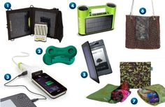 Green Travel Gadgets
