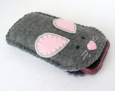 DIY ipod/iphone animal case