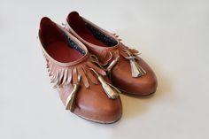 Handmade Shoes by Ina Grau via Annie Larson