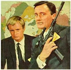The Man from Uncle with Ilya Kuryakin and Napoleon Solo--I loved this show.