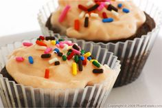 Gluten-Free Chocolate Cupcakes with Cherry Cream Cheese Frosting Recipe