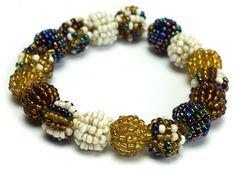 #Beaded Stretch #Bracelet Paris #jewelry