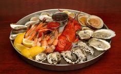seafood platter @rowayton seafood
