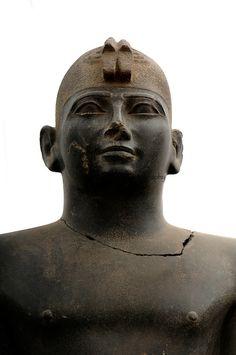 Pharaoh Taharka, 25th Dynasty, , Black Pharaohs, Nubians, Sudan, Kerma, Statues, Late Period
