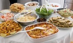 Host a potluck - request favorite dishes from your guests and enjoy the variety of food!
