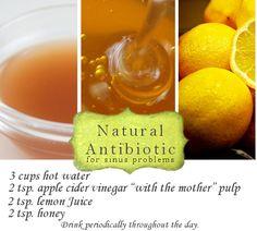 home remedies, natural cold remedies, sinus relief, apple cider vinegar, flu remedies, flu season, cold cures, recip, health