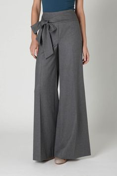 I have very few pairs of dress trousers, which has only recently felt like an issue.  Sometimes a girl has to observe a group of felons talk about their drug addictions and pants seem to invite fewer obvious full-body checkouts.