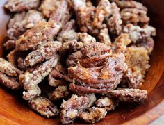 Sweet and Spicy Bourbon Pecans