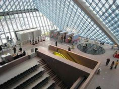 Seattle Public Library by Rem Koolhaas