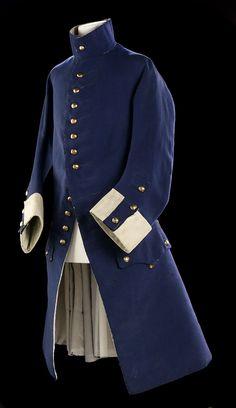 Royal Naval, 18Th Century Men Fashion, 18Th Century Frocks Coats, Men ...
