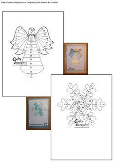 Home : Iris Folding : Christmas : Two Christmas Iris Folding Patterns