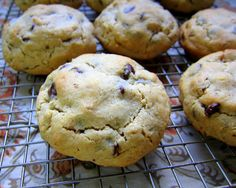 Big fluffy chocolate chip cookies.
