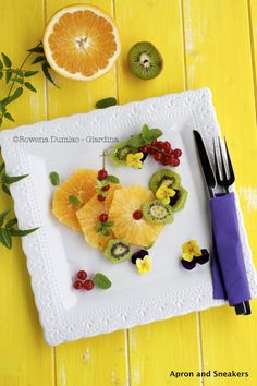 Fruit & Flower Salad With Limoncello | Apron and Sneakers
