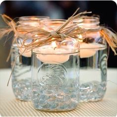 jam jar candle