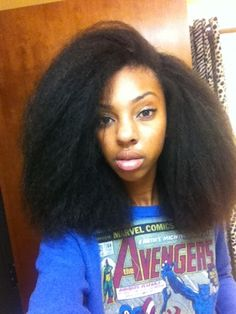 Click the image for Maya's natural hair photos and regimen